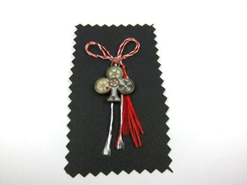 Martisor Steampunk Handmade M0009