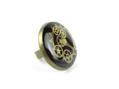 Inel Steampunk Handmade I000563