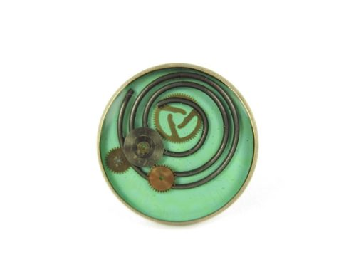 Inel Steampunk Handmade I000597