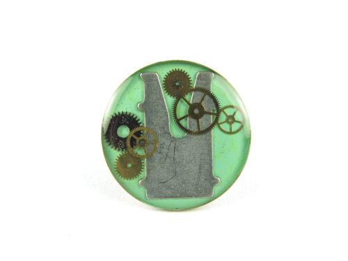Inel Steampunk Handmade I000604