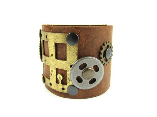 Bratara Steampunk Handmade BR000054