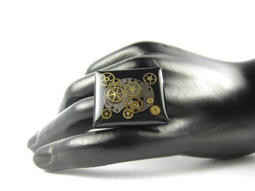Inel Steampunk Handmade I000669