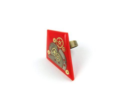 Inel Steampunk Handmade I000680