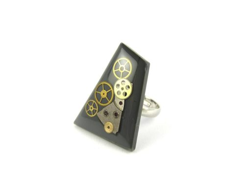 Inel Steampunk Handmade I000702