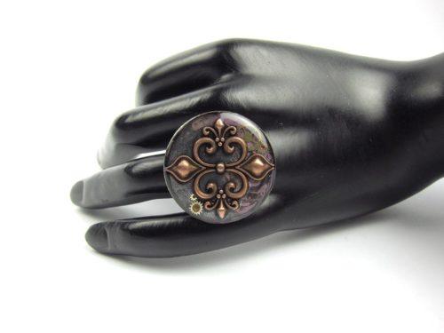 Inel Steampunk Handmade I000760