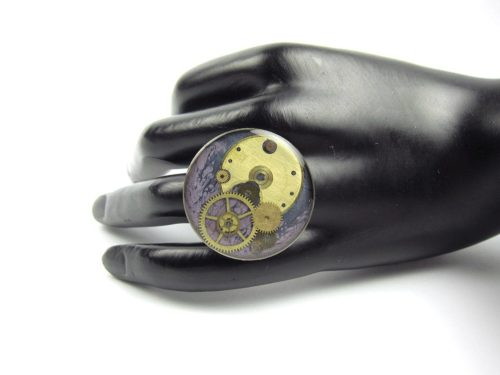 Inel Steampunk Handmade I000761