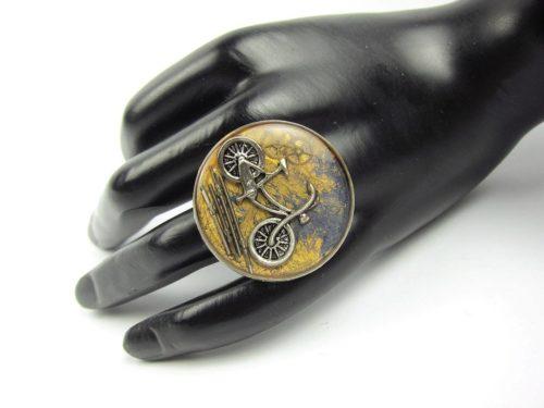 Inel Steampunk Handmade I000763