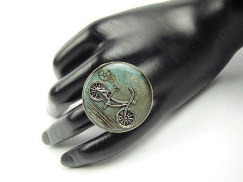 Inel Steampunk Handmade I000764
