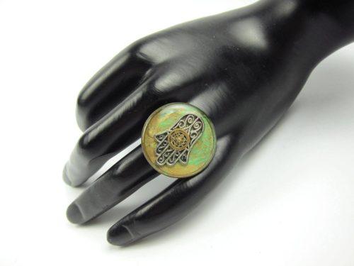 Inel Steampunk Handmade I000765