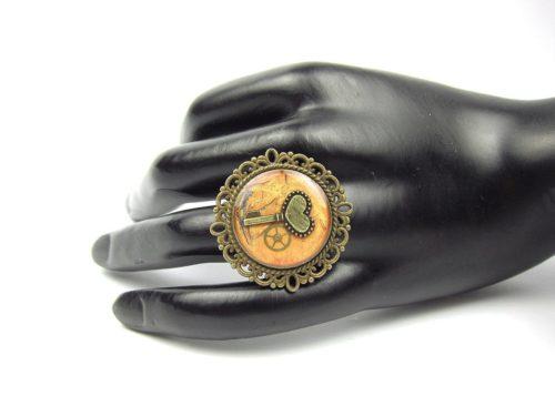 Inel Steampunk Handmade I000771