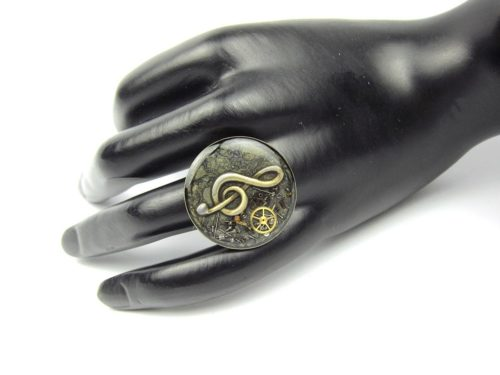 Inel Steampunk Handmade I000787