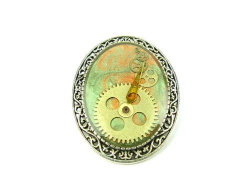 Brosa Steampunk Handmade BS000057