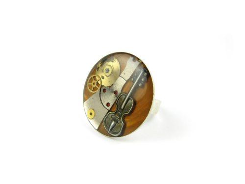 Inel Steampunk Handmade I000795