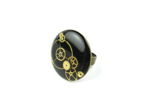 Inel Steampunk Handmade I000797