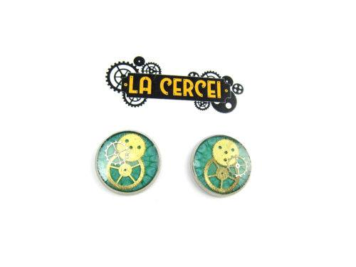 Cercei Steampunk Handmade C001454