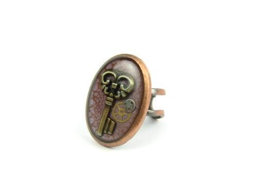 Inel Steampunk Handmade I000838