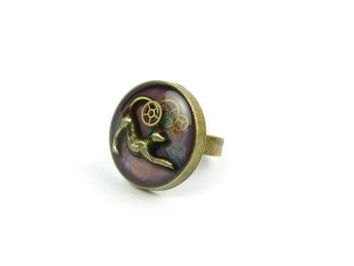 Inel Steampunk Handmade I000839