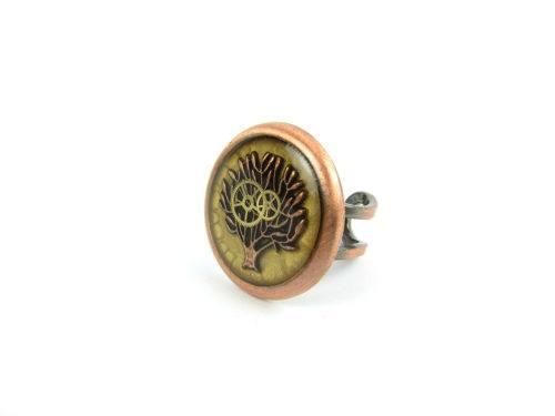 Inel Steampunk Handmade I000847