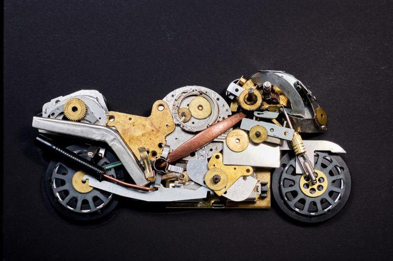 motocicleta steampunk artizan urban