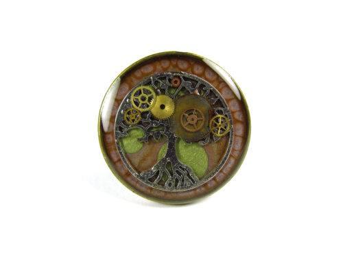 Inel Steampunk Handmade I000878