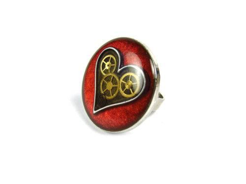 Inel Steampunk Handmade I000880