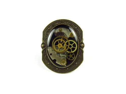 Inel Steampunk Handmade I000888