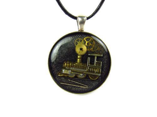 Pandantiv Steampunk Handmade P001803