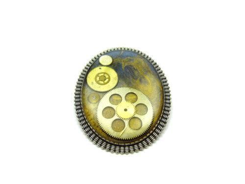 Brosa Steampunk Handmade BS000108