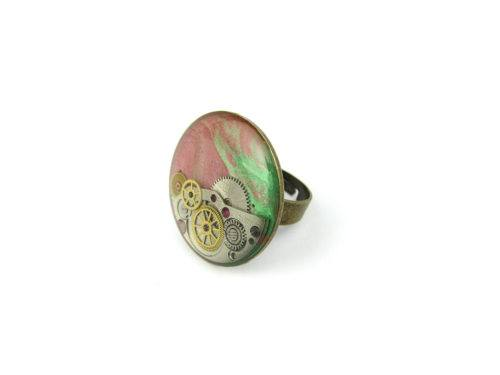 Inel Steampunk Handmade I000860