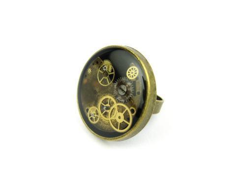 Inel Steampunk Handmade I000864