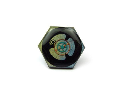 Inel Steampunk Handmade I000897
