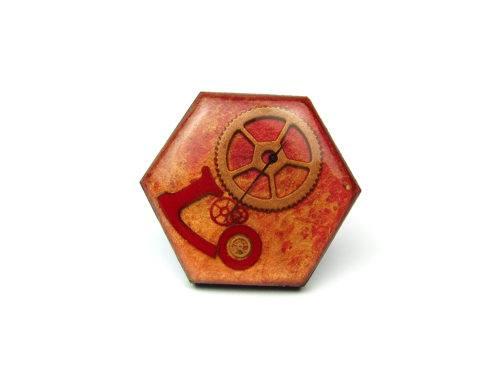 Inel Steampunk Handmade I000898